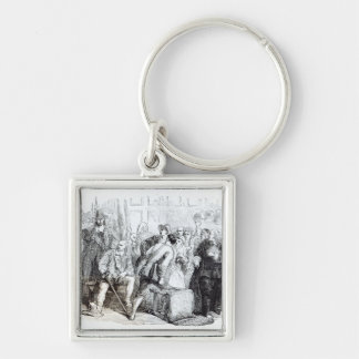 The Arrest of Nonconformists Keychain