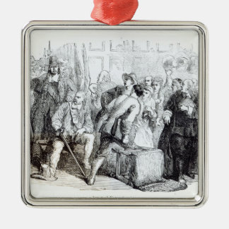 The Arrest of Nonconformists Metal Ornament