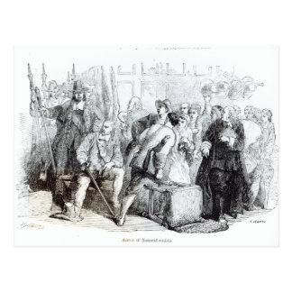 The Arrest of Nonconformists Postcard