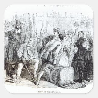 The Arrest of Nonconformists Square Sticker