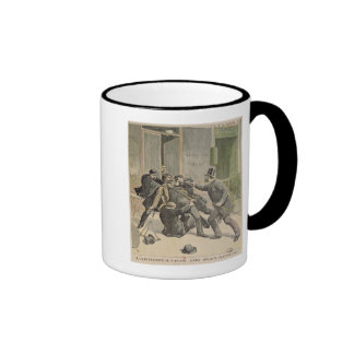 The Arrest of Ravachol Mug
