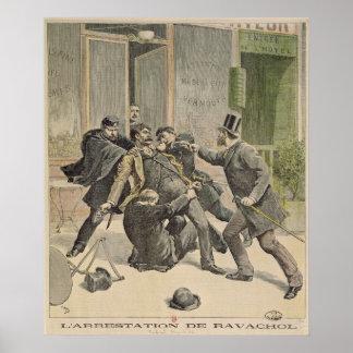 The Arrest of Ravachol Poster
