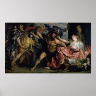 The Arrest of Samson, c.1628/30 Poster