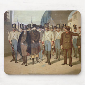 The Arrest of the Carbonari Mouse Pad