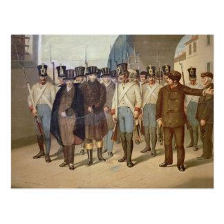 The Arrest of the Carbonari Postcard
