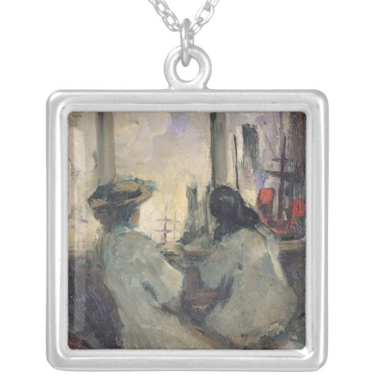 The Arrival in London Silver Plated Necklace