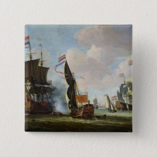 The Arrival Michiel Adriaanszoon Ruyter Button