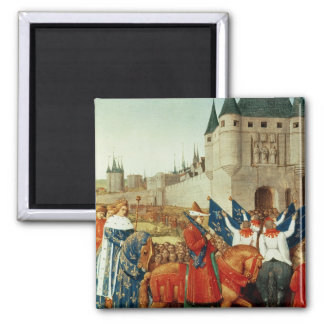 The Arrival of Charles V  in Paris Magnet
