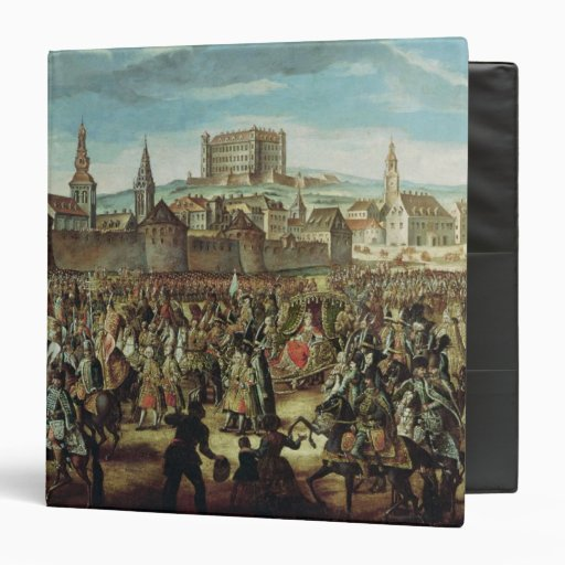 The Arrival of Empress Maria Theresa of Binder