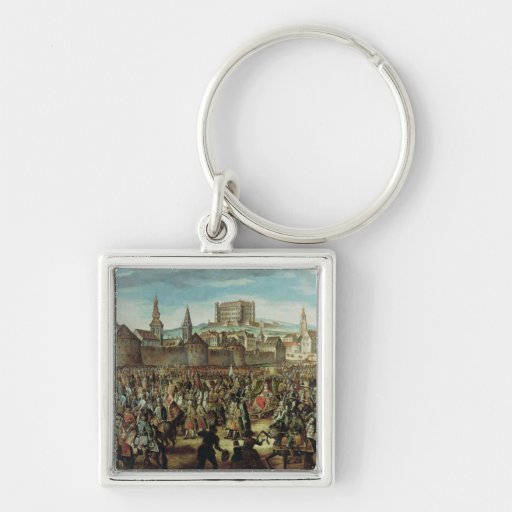 The Arrival of Empress Maria Theresa of Keychain
