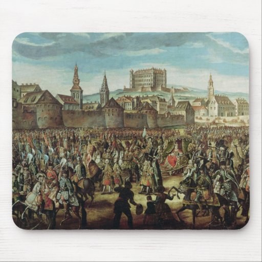 The Arrival of Empress Maria Theresa of Mouse Pad