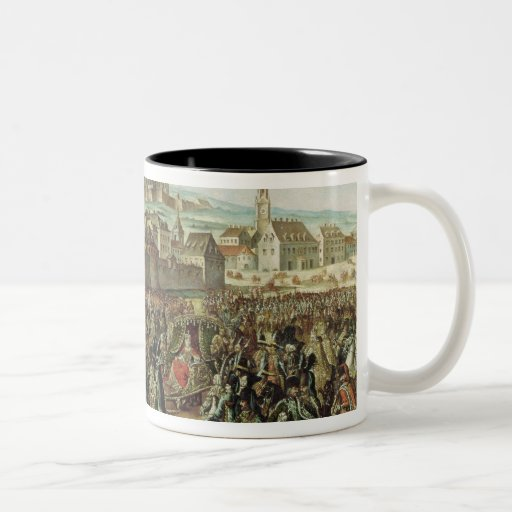 The Arrival of Empress Maria Theresa of Mug