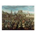 The Arrival of Empress Maria Theresa of Postcards