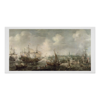 The Arrival of Fredrick V at Vlissingen in 1613 (o Poster