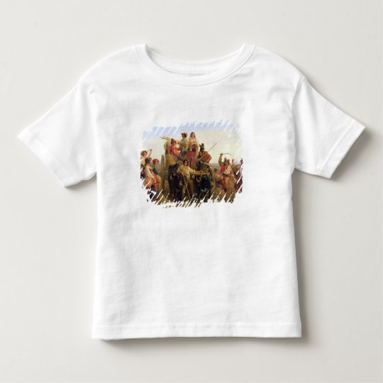 The Arrival of  Harvesters in the Pontine Toddler T-shirt