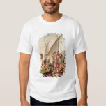 The Arrival of Hernando Cortes  in Mexico T-shirt