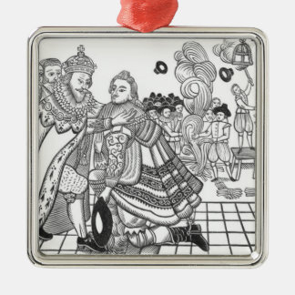 The Arrival of His Majesty Charles (1600-49) Princ Metal Ornament
