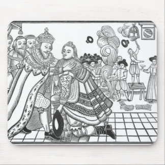 The Arrival of His Majesty Charles (1600-49) Princ Mouse Pad