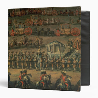 The arrival of Isabella of Parma Binder
