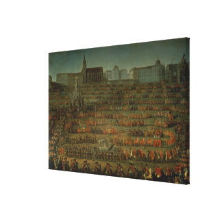 The Arrival of Isabella of Parma Gallery Wrap Canvas