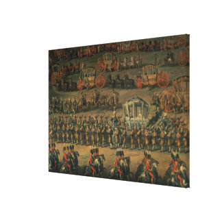 The arrival of Isabella of Parma Canvas Prints