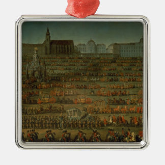 The Arrival of Isabella of Parma Metal Ornament