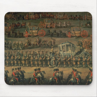 The arrival of Isabella of Parma Mouse Pad