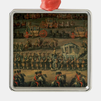 The arrival of Isabella of Parma Christmas Ornaments