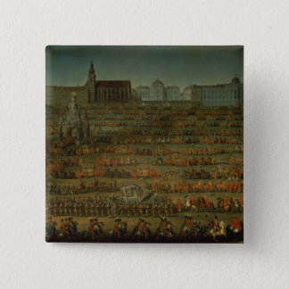 The Arrival of Isabella of Parma Pinback Button