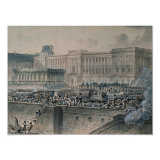 The Arrival of Louis XVI  in Front of the Poster