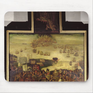 The Arrival of Queen Elizabeth I  at Tilbury Mouse Pad