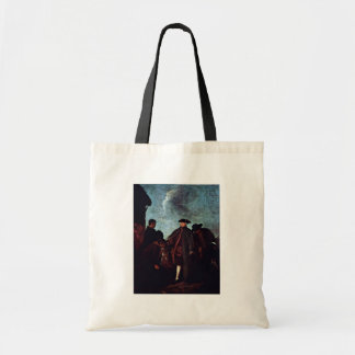 """The Arrival Of Signore"""" By Longhi Pietro Tote Bag"""