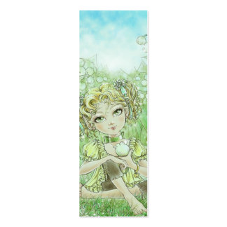The Arrival of Spring Bookmark Mini Business Card