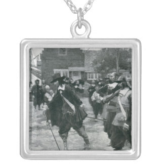 The Arrival of Stuyvesant in New Amsterdam Necklace