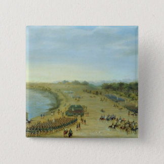 The Arrival of the Allied Army at Itapiru, Paragua Button