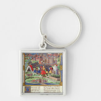 The Arrival of the Count of Charolais Keychain