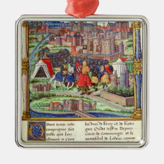 The Arrival of the Count of Charolais Metal Ornament