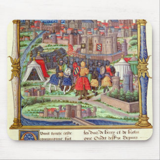 The Arrival of the Count of Charolais Mouse Pad
