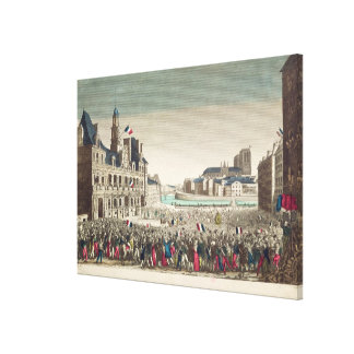 The Arrival of the Duke of Orleans Canvas Print