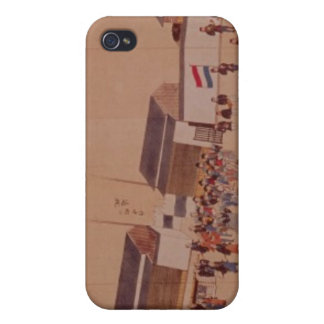 The Arrival of the Dutch in Japan,, 18th century iPhone 4/4S Cover