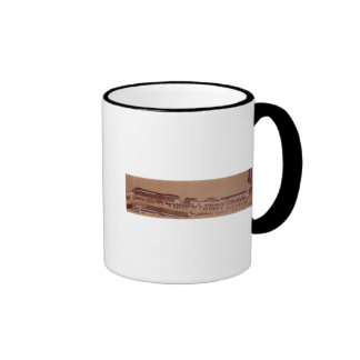 The Arrival of the Dutch in Japan,, 18th century Ringer Coffee Mug