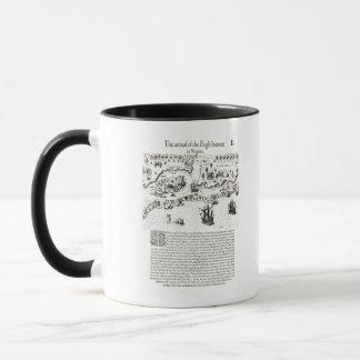 The Arrival of the Englishmen in Virginia Mug