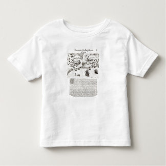 The Arrival of the Englishmen in Virginia Toddler T-shirt