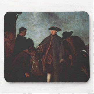 The Arrival of the Nobleman by Pietro Longhi Mouse Pads