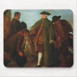 The Arrival of the Nobleman (oil on canvas) Mouse Pad