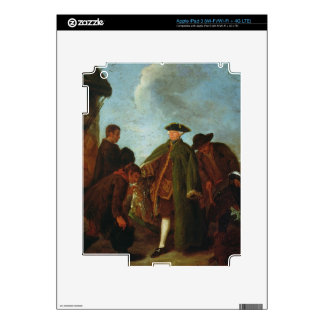 The Arrival of the Nobleman (oil on canvas) iPad 3 Decal