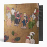 The Arrival of the Portuguese in Japan 3 Ring Binder