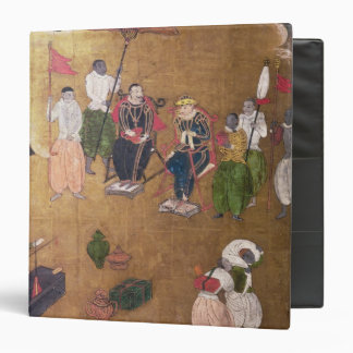 The Arrival of the Portuguese in Japan Binder