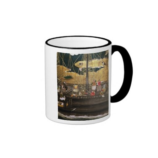 The Arrival of the Portuguese in Japan Coffee Mug