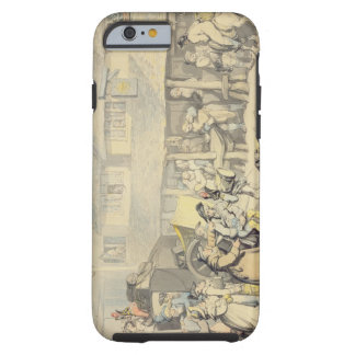 The Arrival of the Stage Coach at the Sun Inn, Bod Tough iPhone 6 Case